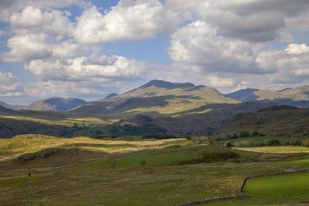 cumbria: Eskdale, The Lake District, Cumbria