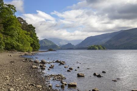 cumbria: Derwent Water, The Lake District, Cumbria, England