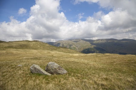cumbria: View towards Helvellyn, Lake District, Cumbria, England