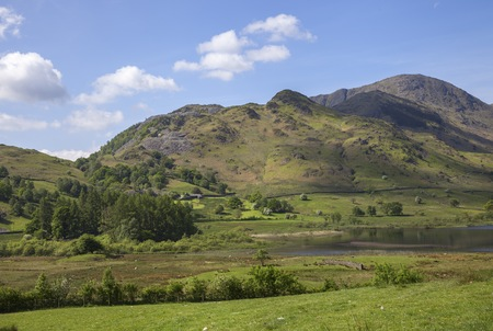 cumbria: Little Langdale Tarn, Lake District, Cumbria, England