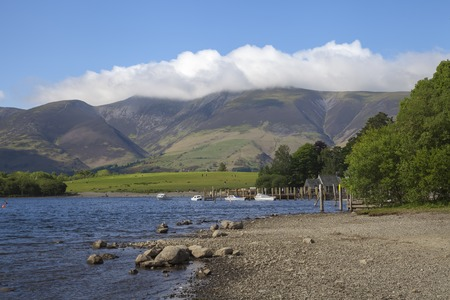 cumbria: Derwent Water, The Lake District, Cumbria, England