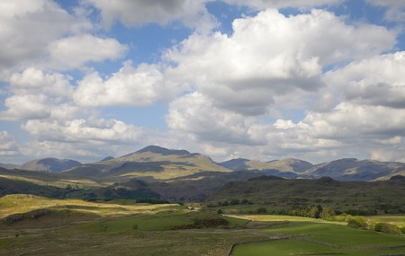 lake district: Eskdale, The Lake District, Cumbria, England Stock Photo