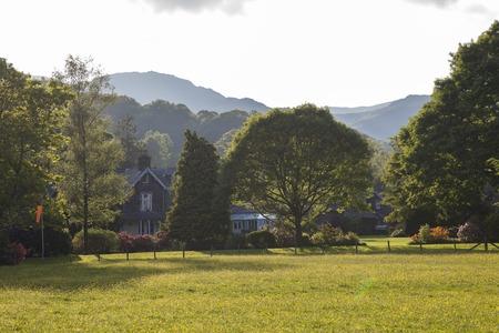 cumbria: Grasmere village, lake District, Cumbria, England