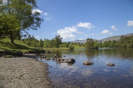 lake district: Tarn Hows, Lake District, Cumbria, England Stock Photo