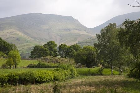 cumbria: Pretty view, Grasmere, The Lake District, Cumbria, England Stock Photo