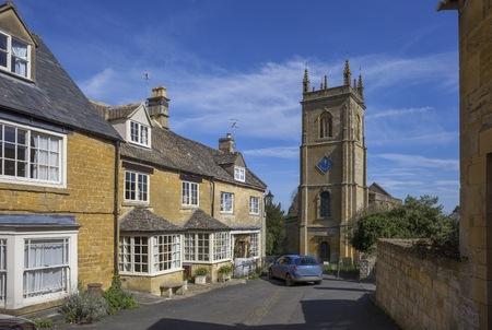 Blockley village church, Gloucestershire, England
