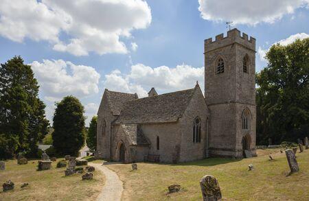 Asthall church, Oxfordshire, England