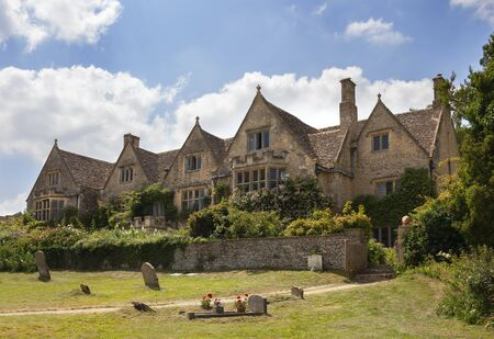 Asthall Manor, Cotswolds, Oxfordshire, England