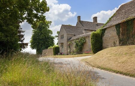 Farm at Swinbrook, Cotswolds, Oxfordshire, England