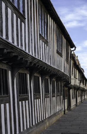 Almshouses at Stratford upon Avon, Warwickshire, England