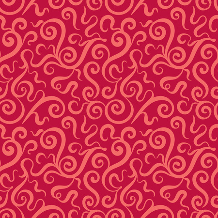 fully editable: Floral Seamless Pattern. The layout is fully editable