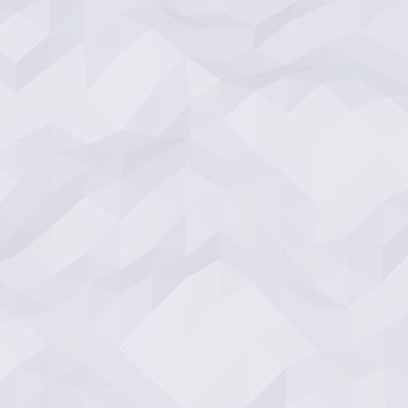 rumpled: White abstract geometric rumpled triangular low poly style vector background Illustration