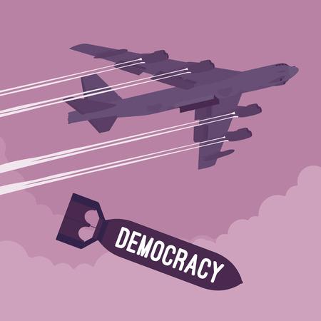 democracy: Bomber and Democracy bombing