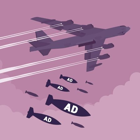 bomber: Bomber and Ad bombing Stock Photo