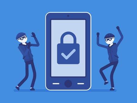 Smartphone under reliable protection