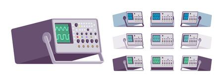 Oscilloscope device set