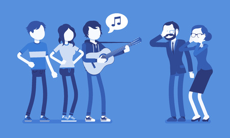 Annoying music conflict