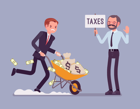 Tax evasion attempt