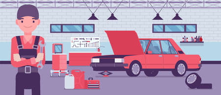 Small scale business-owner, privately owned car service