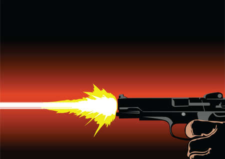 cruelty: gun shot