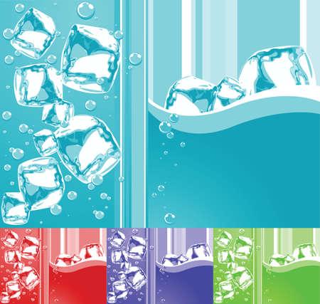 ice background Stock Vector - 2751130