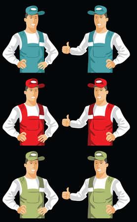 service man: service man