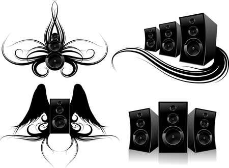 design elements music Stock Vector - 3679773