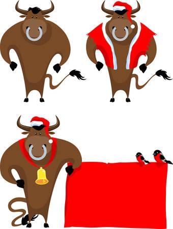 cartoon bull Stock Vector - 3854925