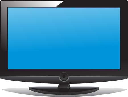 LCD tv Stock Vector - 3997075