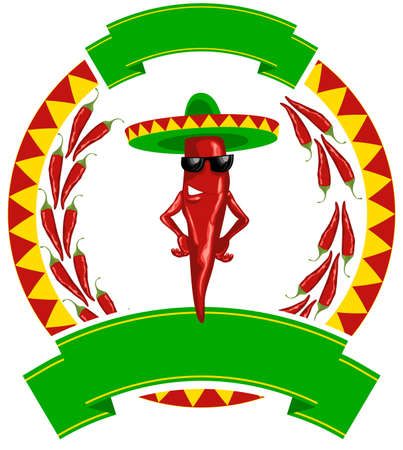 mexican chilis ring label