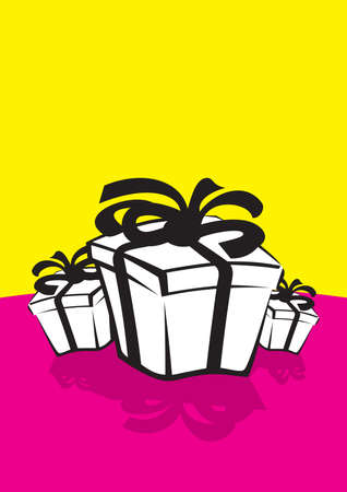 simple gift boxs Illustration