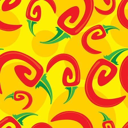 chili seamless Illustration