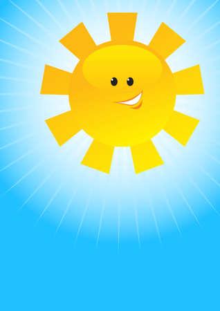 cartoon sun Stock Vector - 5043357