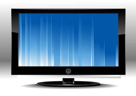 led tv Stock Vector - 5043360