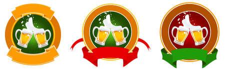 green beer: design of beer label