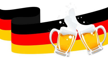 d�bord�: bi�re allemande