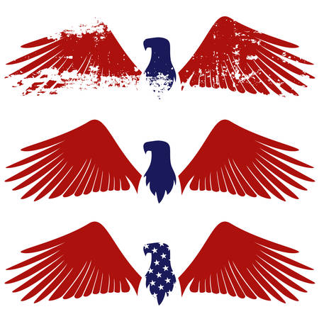 American eagle symbol Illustration