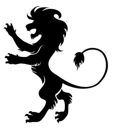 majestic lion Vector
