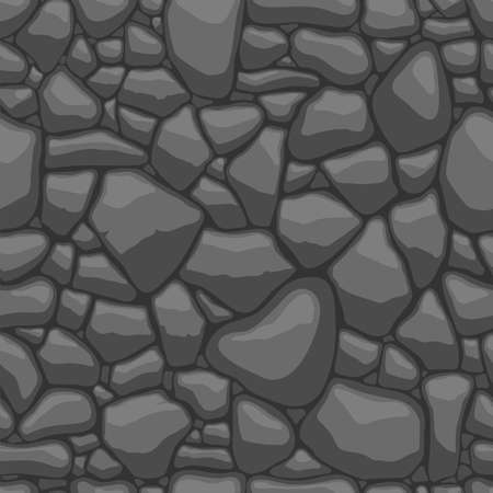 rock stone: Seamless texture of stones in grey colors