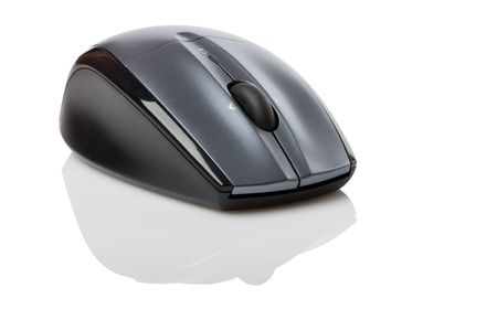 Computer Mouse on white background photo