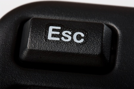esc:  esc button on computer keyboard