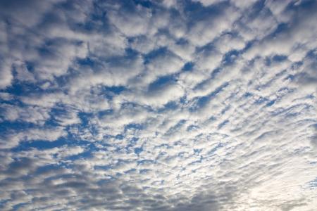 altocumulus: Altocumulus clouds in the sky Stock Photo