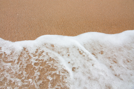 Foam and sand background
