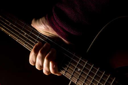 Guitar: chiaroscuro version - color
