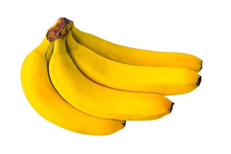 exotics: bananas, yellow, fruit, exotics, tropics, food, isolated Stock Photo