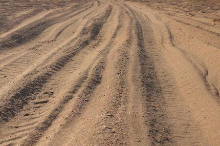 Road. Road on a light background. Desert landscape background. Picturesque desert highway.