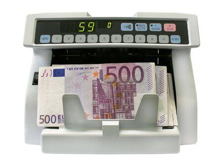 spuria: Il rivelatore di banconote per il conteggio delle note e la determinazione di denaro falso