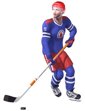 gaiters: Hockey Stock Photo