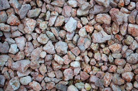 royalty free: Fragment of the road surface from gravel
