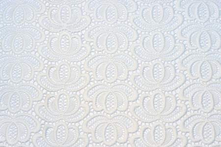 Old white lace on white background Stock Photo - 16550000